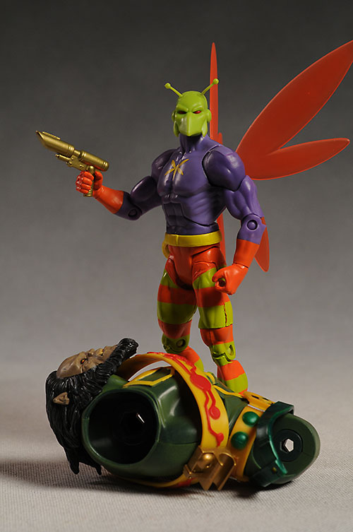 DCUC Killer Moth action figure by Mattel