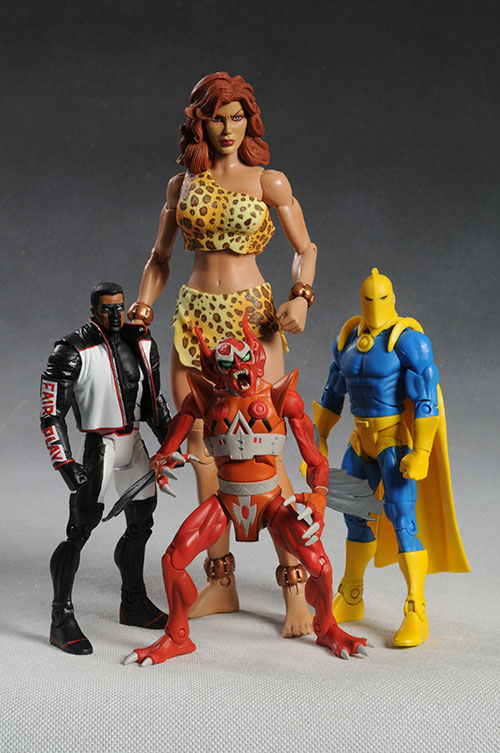 DCUC Mr. Terrific, Parademon, Dr. Fate, Giganta DC action figures by Mattel