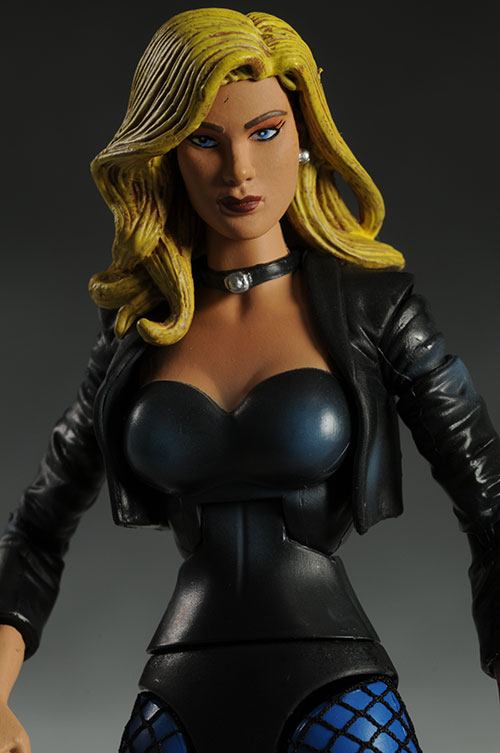 DCUC Black Canary action figure by Mattel