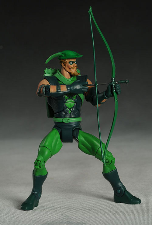 DCUC Green Arrow action figure by Mattel