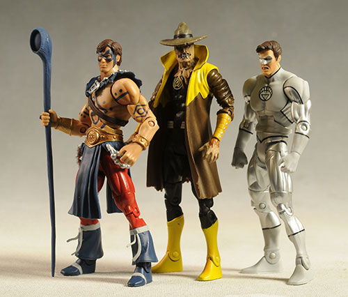 DCUC Series 17 action figures by Mattel