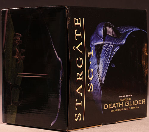 Stargate Death Glider statue by Quantum Mechanix