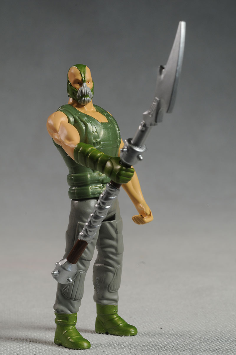 DKR Batman, Bane action figures by Mattel