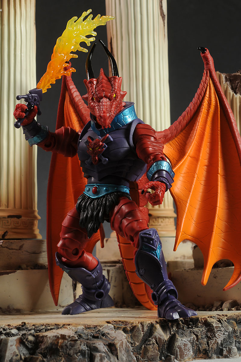 MOTUC Draego-man action figure by Mattel