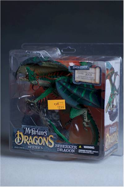 Beserker Dragon action figure by McFarlane