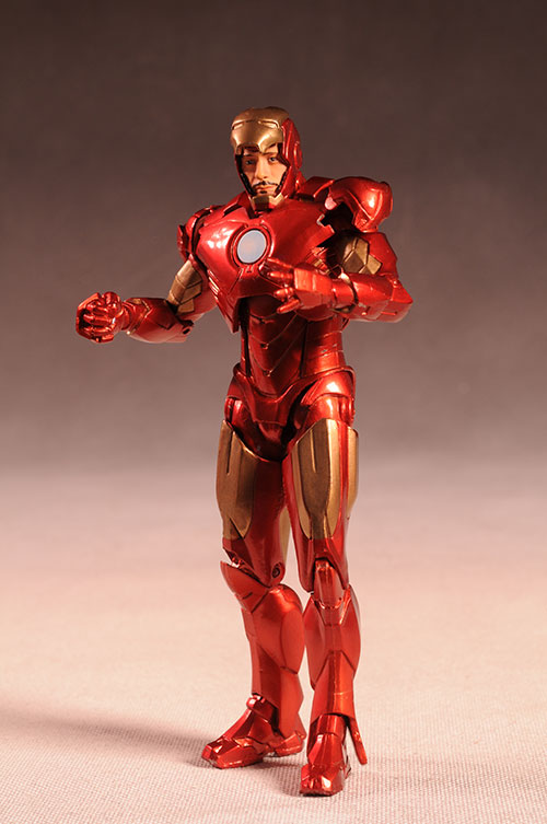 Marvel Select Iron Man MKIV, War Machine action figure by Diamond Select Toys