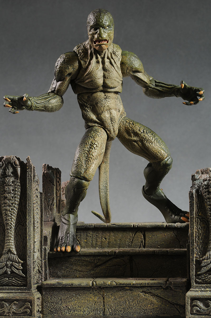 Marvel Select Lizard action figure by DST