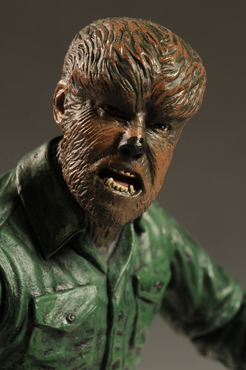 Universal Monsters Wolfman figure by DST