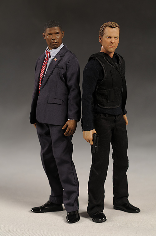 24 Jack Bauer, President Palmer action figure by Enterbay