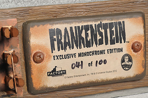 Frankenstein's Monster 1:1 bust by Factory Entertainment