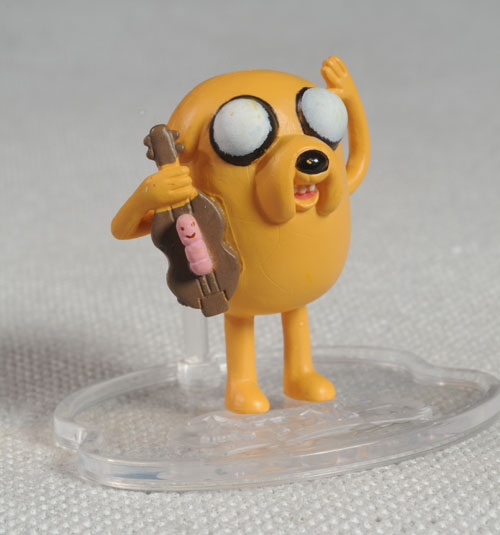 Adventure Time Jake, Finn figures by Jazwares