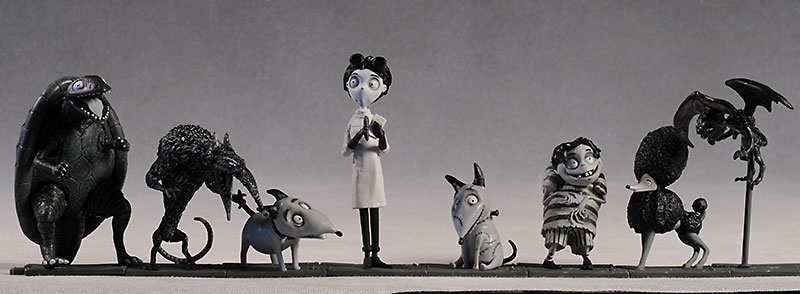 Review And Photos Of Frankenweenie Pvc Figures By Neca