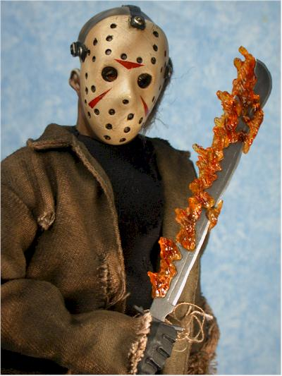 Freddy vs Jason sixth scale action figures