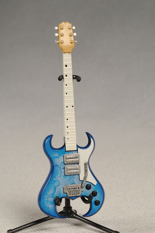 Guitar Hero 1/12 scale guitars by McFarlane Toys