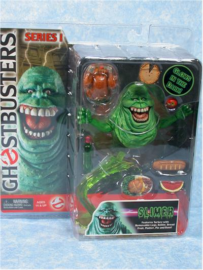 Ghostbusters Vinz, Zuul, Gozer, Slimer action figure by NECA