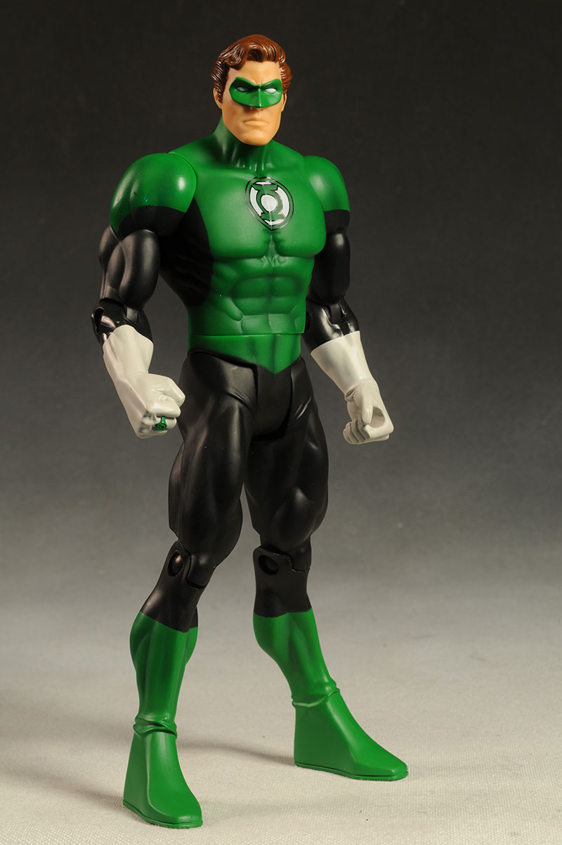 review and photos of mattel hal green lantern figure