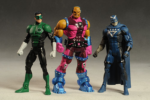 DCUC Green Lanter Wave 1 action figures by Mattel