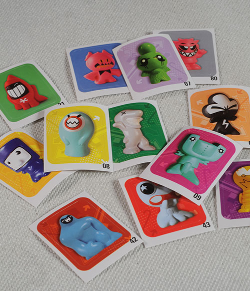 GoGo Crazy Bones figures by Magic Box