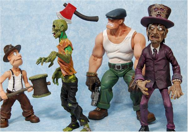 The Goon action figures from Mezco Toyz