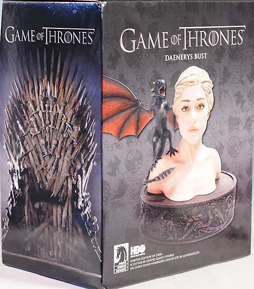 Game of Thrones Daenerys mini-bust by Dark Horse