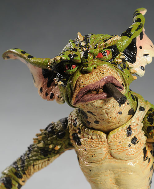 George, Daffy, Flasher Gremlins figures by NECA