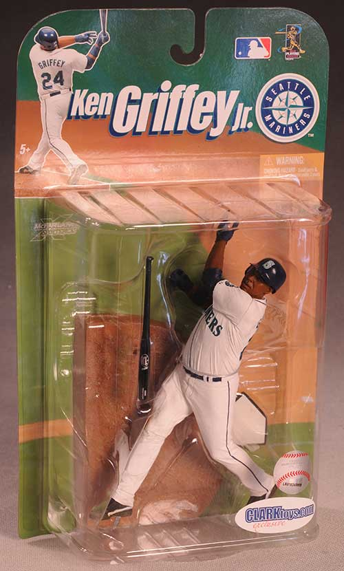 Ken Griffey Jr. exclusive Mariners action figure by McFarlane Toys