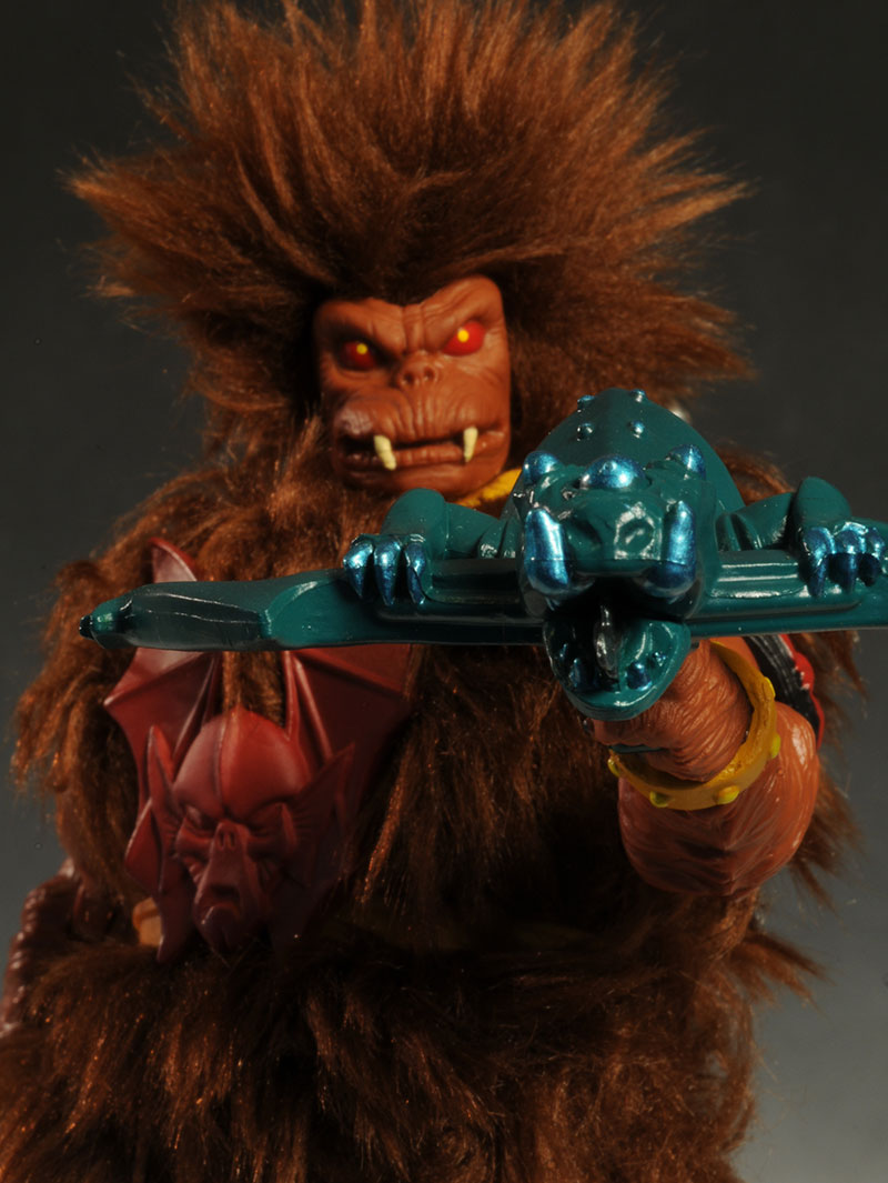 MOTUC Grizzlor actcion figure by Mattel