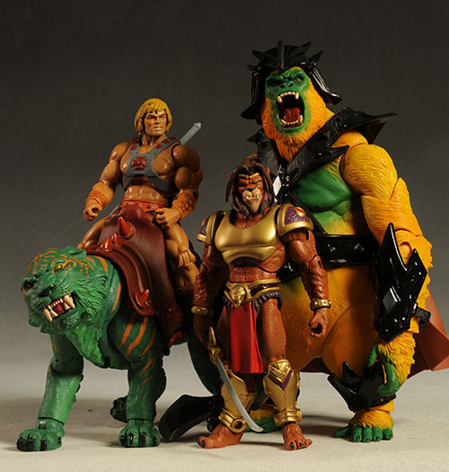 MOTUC Gygor action figure by Mattel
