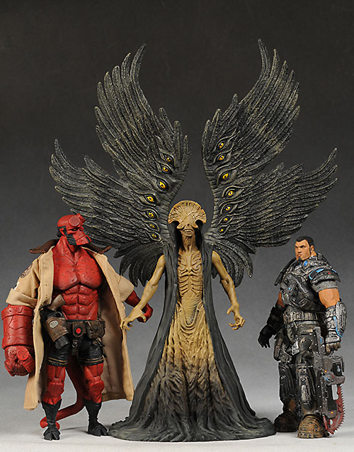 Angel of Death Hellboy II action figure by Mezco