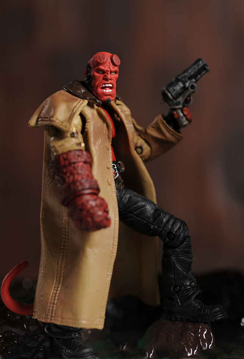 Mezco Hellboy II action figure