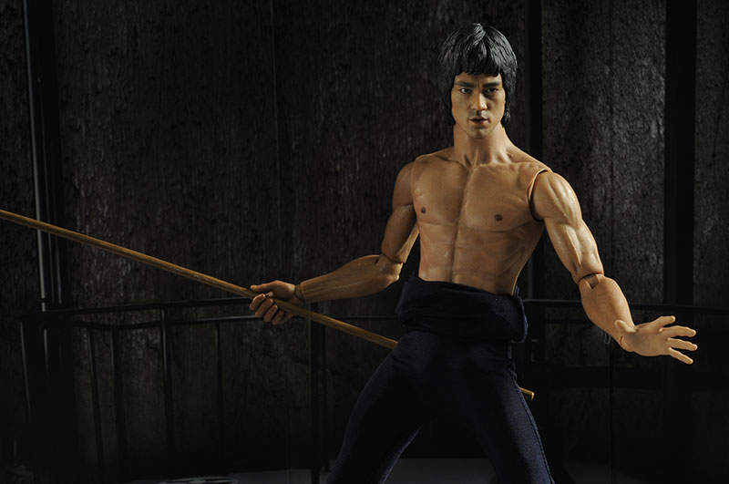 Bruce Lee Enter the Dragon DX04 action figure by Hot Toys