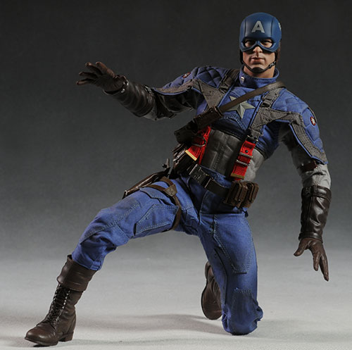 Captain America sixth scale action figure by Hot Toys by Hot Toys