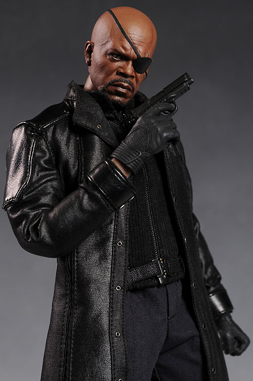 Avengers Nick Fury sixth scale figure by Hot Toys