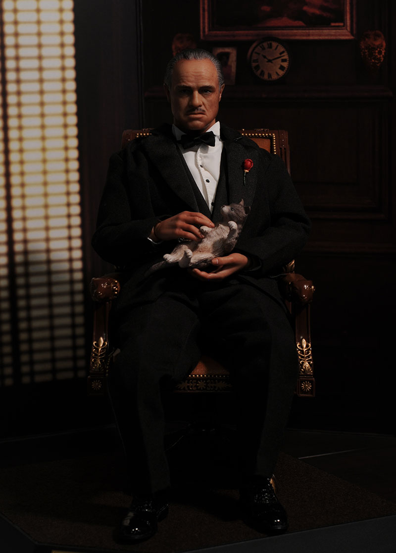 Godfather sixth scale action figure by Hot Toys