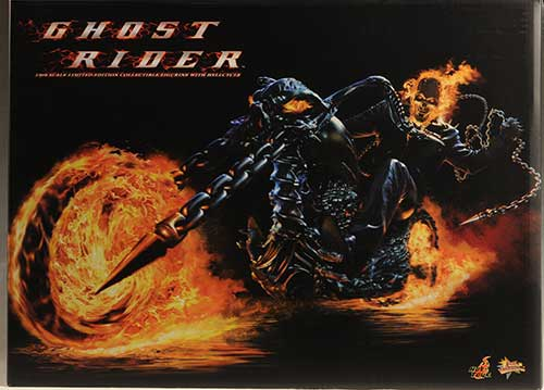 Ghost Rider, Hellcycle action figure by Hot Toys