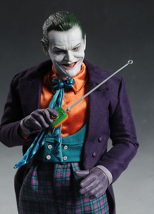 Jack Nicholson Joker action figure by Hot Toys