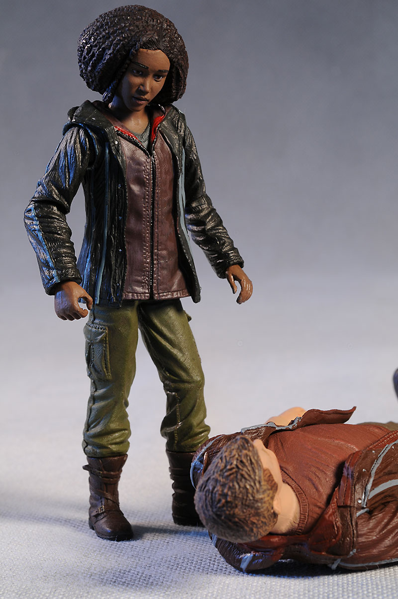 Hunger Games Cato, Rue action figures by NECA