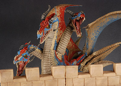 Hydra Clan Dragon action figure by McFarlane Toys