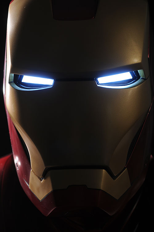 Iron Man MKIII Life Size Bust by Sideshow