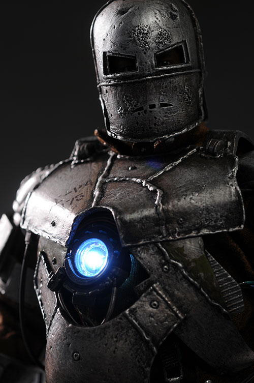Iron Man MKI sixth scale action figure by Hot Toys
