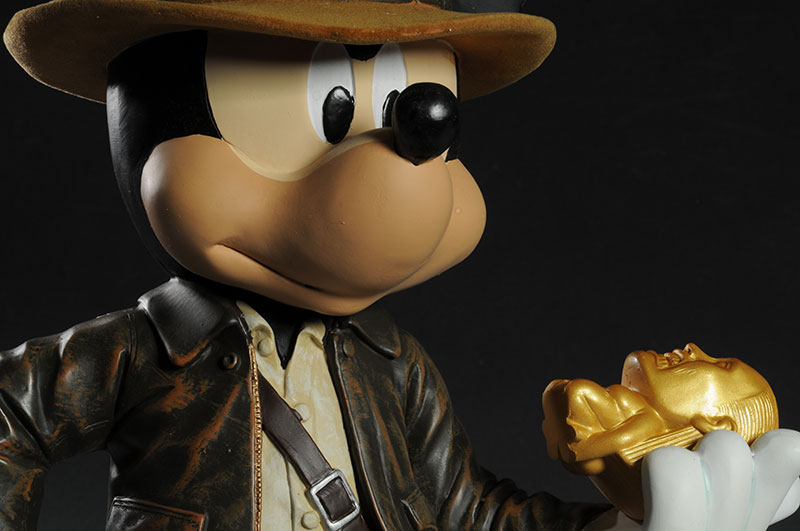 Mickey Mouse as Indiana Jones statue by Disney
