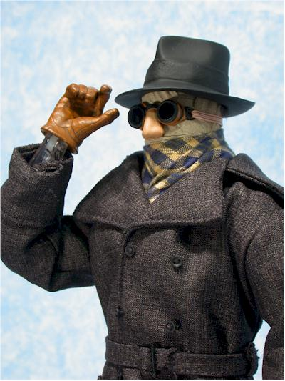 Universal Monsters Invisible Man 1/6th action figure by Sideshow