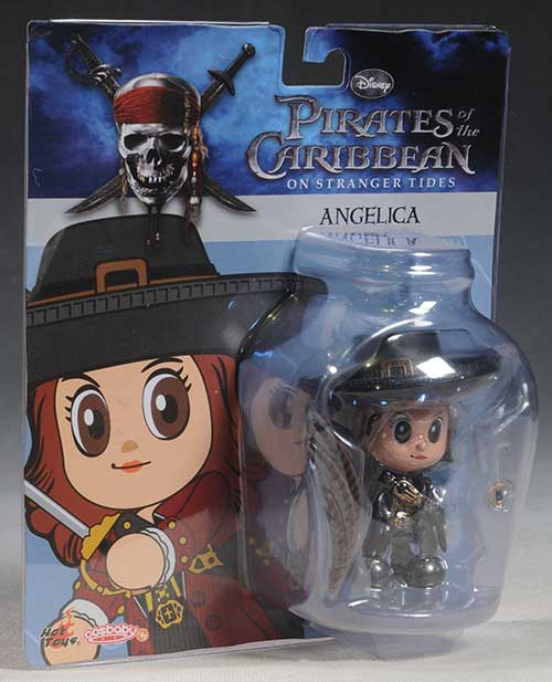 Pirates of the Caribbean Cosbaby figures by Hot Toys