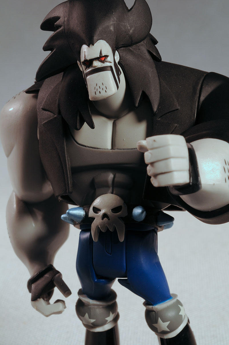 JLU animated Lobo action figure by Mattel