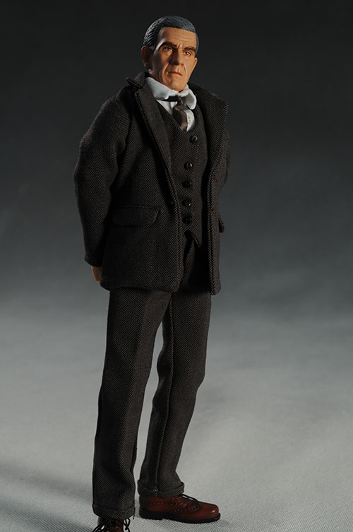 Boris Karloff sixth scale action figure by Amok Time and Executive Replicas