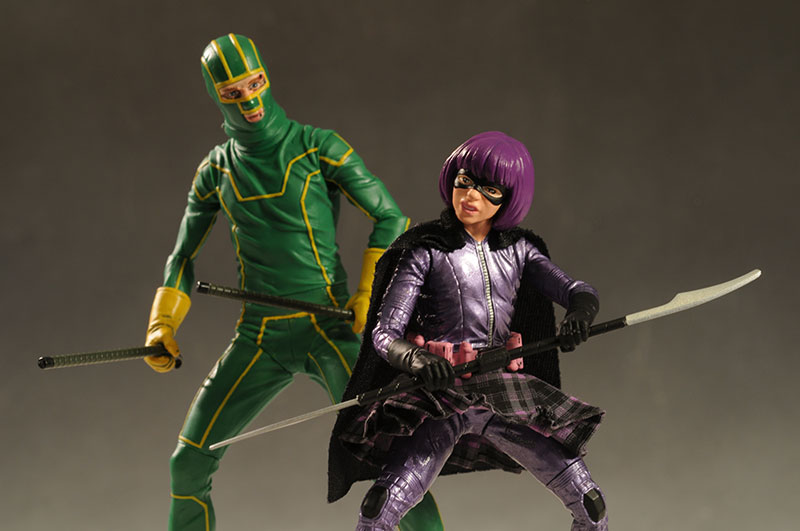 Kick-Ass, Hit-Girl action figure bu Mezco