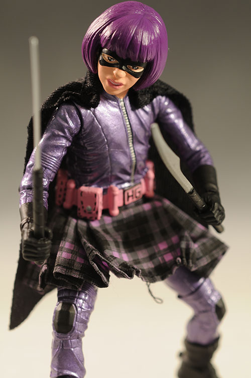 Hit-Girl action figure bu Mezco