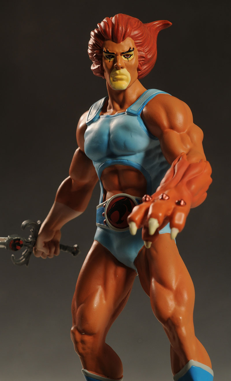 Thundercats Lion-O statue by Icon Heroes