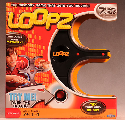 Loopz game by Mattel