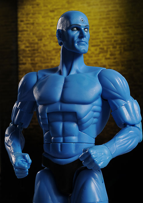 Watchmen Dr. Manhattan deluxe action figure by DC Direct